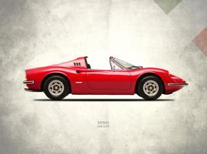 Ferrari Dino 246GTS 1973 by Mark Rogan