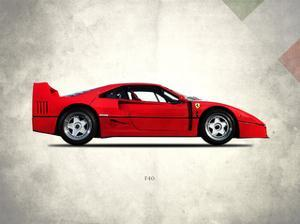 Ferrari F40 Berlinette 1992 by Mark Rogan