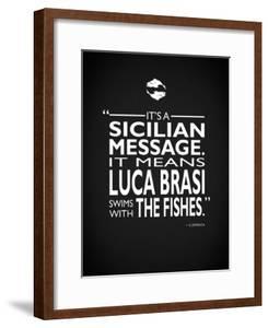 Godfather Luca Brasi by Mark Rogan