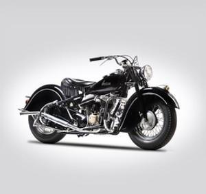 Indian Chief Type 347 1947 by Mark Rogan