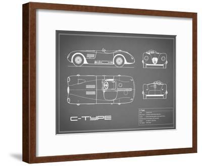 Jaguar C-Type-Grey