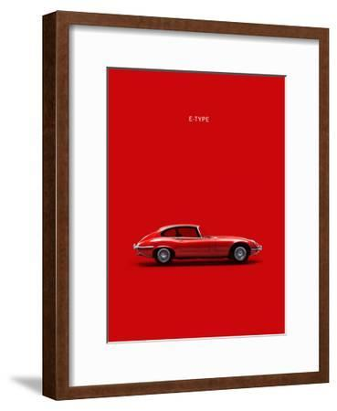 Jaguar E-Type Red