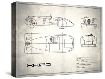 Jaguar XK-120 White
