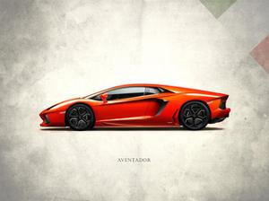 Lamborghini Aventador by Mark Rogan