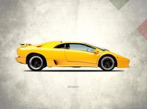 Lamborghini Diablo 1988 by Mark Rogan