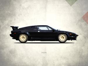 Lamborghini Jalpa 1988 by Mark Rogan