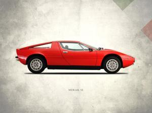 Maserati Merak-SS 1975 by Mark Rogan