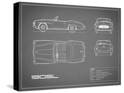 Mercedes 190-SL-Grey