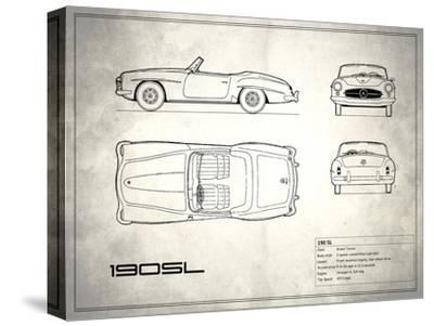 Mercedes 190-SL White