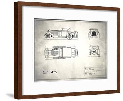 Mercedes SSK White