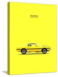 Mustang Shelby GT350 69 Yellow by Mark Rogan