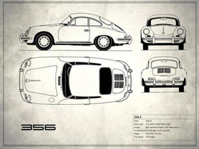 Porsche 356C White