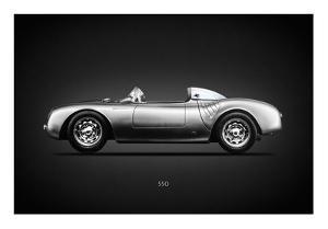 Porsche 550 Spyder by Mark Rogan