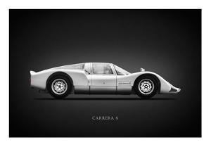 Porsche 906 Carrera6 1966 by Mark Rogan