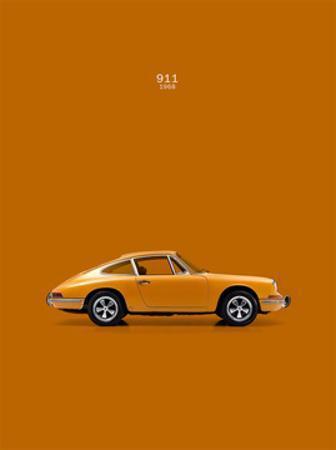 Porsche 911 1968 Orange by Mark Rogan