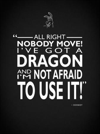 Shrek Ive Got A Dragon