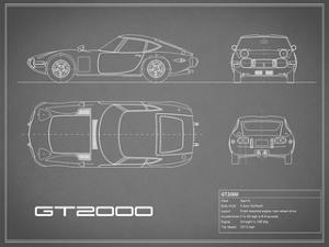 Toyota GT2000-Grey by Mark Rogan
