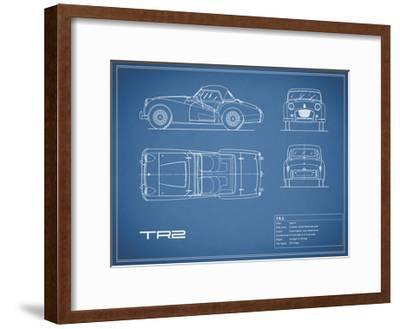 Triumph TR2-Blue