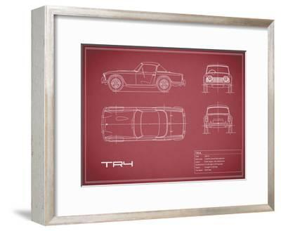 Triumph TR4-Maroon