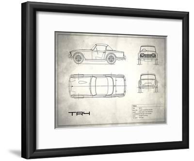 Triumph TR4 White