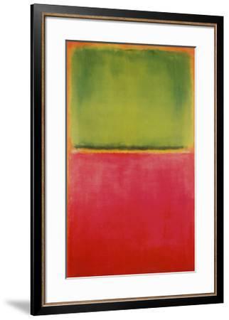 Green, Red, on Orange