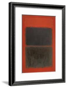 Light Red Over Black by Mark Rothko
