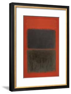 Light Red Over Black by Mark Rothko