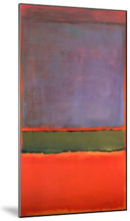No. 6 (Violet, Green and Red), 1951