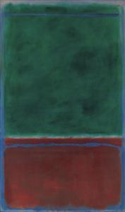 No. 7 (Green and Maroon), 1953 by Mark Rothko