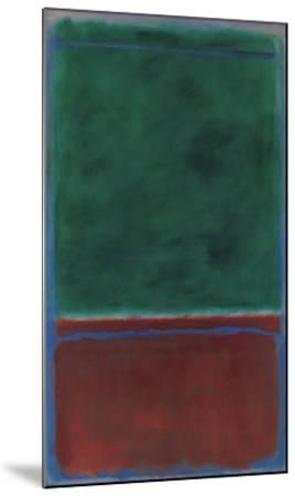 No. 7 (Green and Maroon), 1953 by Mark Rothko