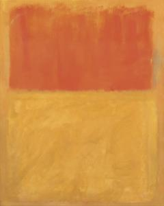 Orange and Tan, 1954 by Mark Rothko