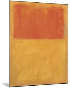 Orange and Tan, 1954 by Mark Rothko
