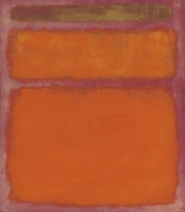 Orange, Red, Yellow, 1961 by Mark Rothko