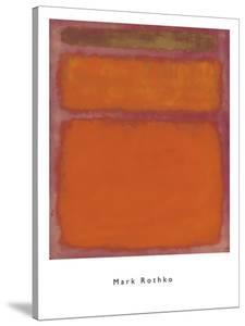 Orange, Red, Yellow, 1961 by Mark Rothko