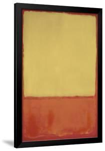 The Ochre, 1954 by Mark Rothko