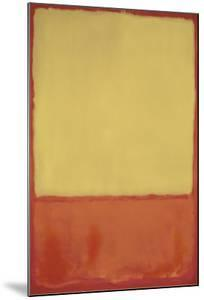 The Ochre, 1954 by Mark Rothko