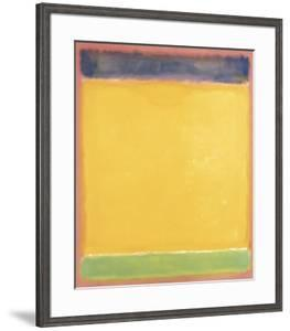 Untitled (Blue, Yellow, Green on Red), 1954 by Mark Rothko
