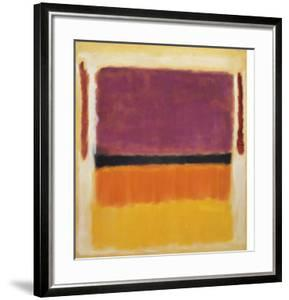 Untitled (Violet, Black, Orange, Yellow on White and Red), 1949 by Mark Rothko
