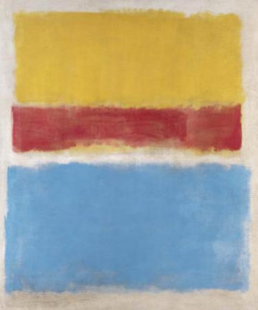 Untitled (Yellow, Red and Blue), c.1953 by Mark Rothko