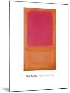 Violet Center, 1955 by Mark Rothko