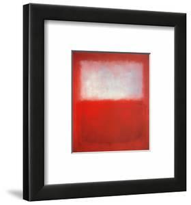 White over Red by Mark Rothko