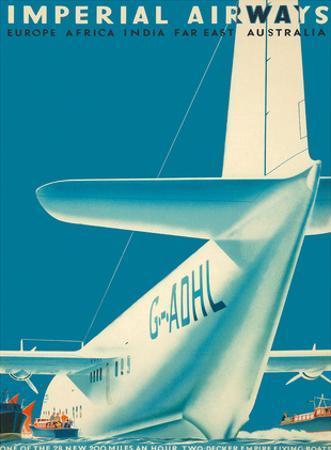 Imperial Airways - Europe - Africa - India - Far East - Australia