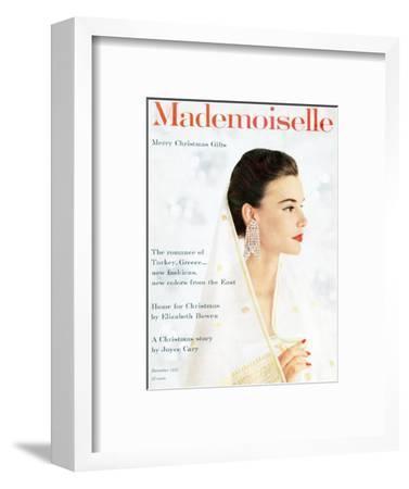 Mademoiselle Cover - December 1955
