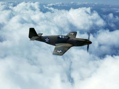 North American's P-51 Mustang Fighter is in Service with Britain's Royal Air Force, 1942