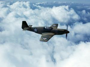 North American's P-51 Mustang Fighter is in Service with Britain's Royal Air Force, 1942 by Mark Sherwood