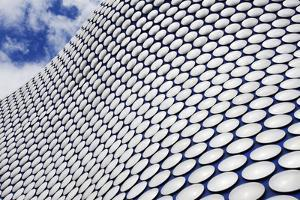Abstract View of the Selfridges Building at the Bullring by Mark Sunderland