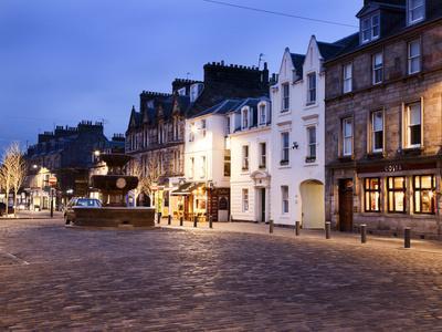Market Street at Dusk, St Andrews, Fife, Scotland