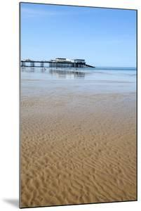 Sand Ripples at Cromer Pier, Cromer, Norfolk, England, United Kingdom, Europe by Mark Sunderland