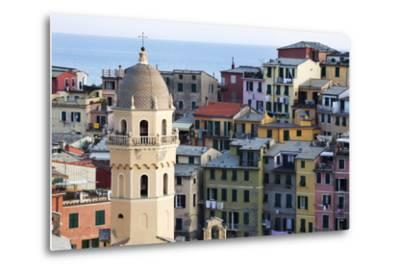 Santa Margherita Church and Colourful Buildings at Dusk