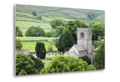 St. Wilfrids Church in the Village of Burnsall in Wharfedale, Yorkshire Dales, Yorkshire, England